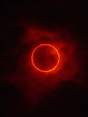 金環日食4